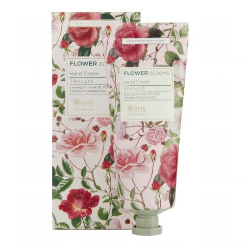 Trellis - RHS Flower Blooms Scented Hand Cream Heathcote & Ivory 100ml